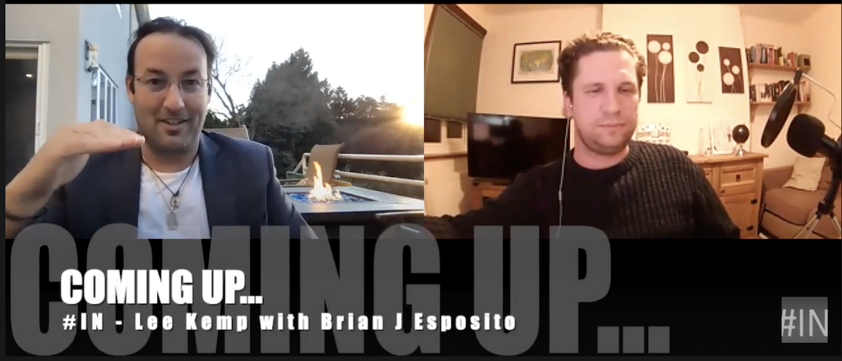 How to be an INSPIRATIONAL ROCKSTAR | 'Interviews by IN' with Brian J Esposito